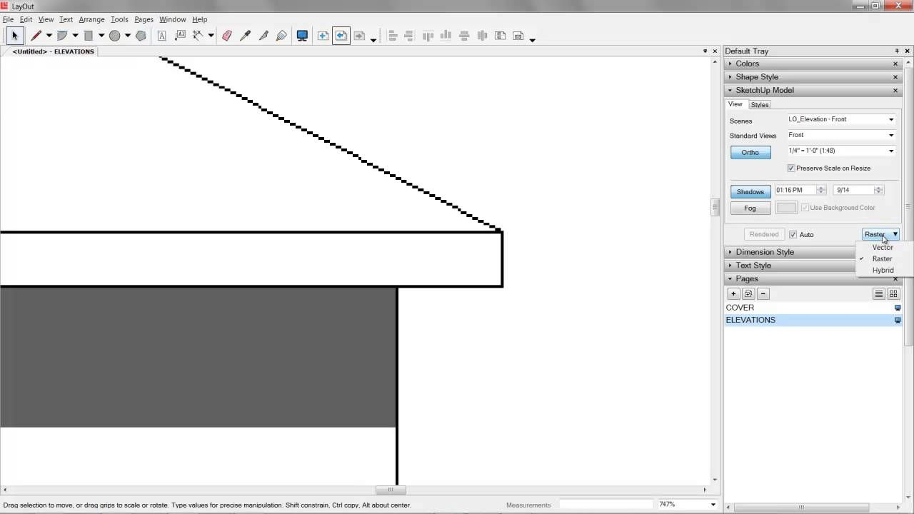 04 Sketchup Layout Construction Documents Layout