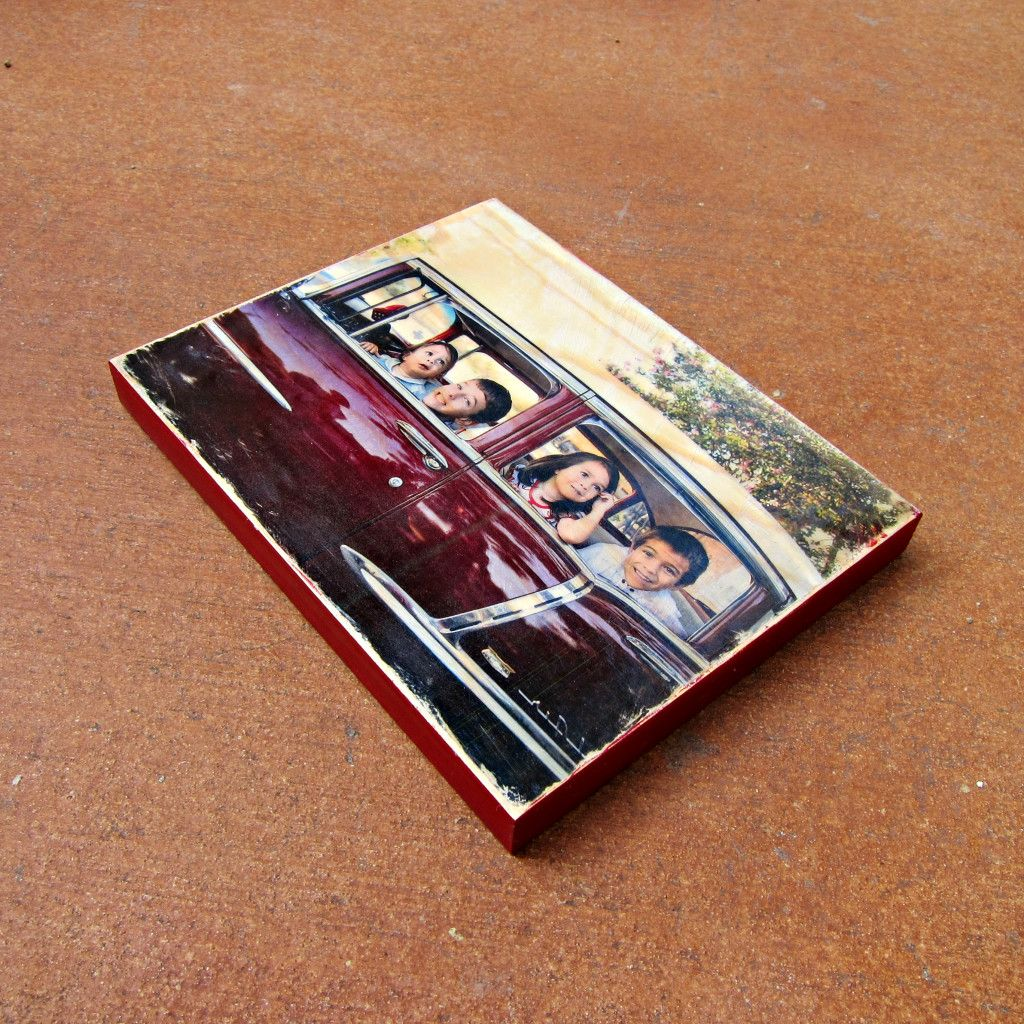 Photo To Wood Transfer Tutorial In 5 Simple Steps Photo On Wood Wood Transfer Photo Transfer To Wood