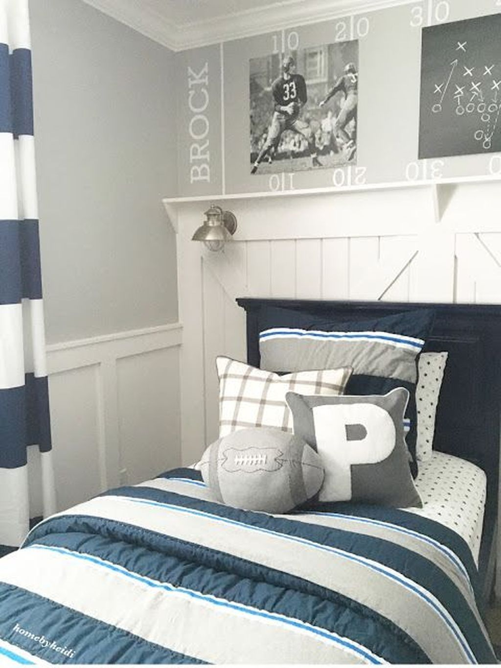 38 Lovely Sport Theme Bedroom Ideas For Boys Boys Room Decor