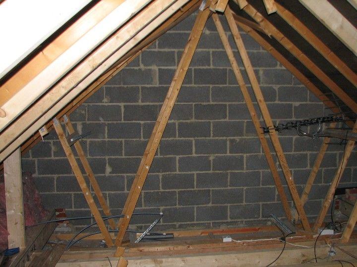 Roof Trusses Loft Conversion Structure Roof Truss Design House Roof