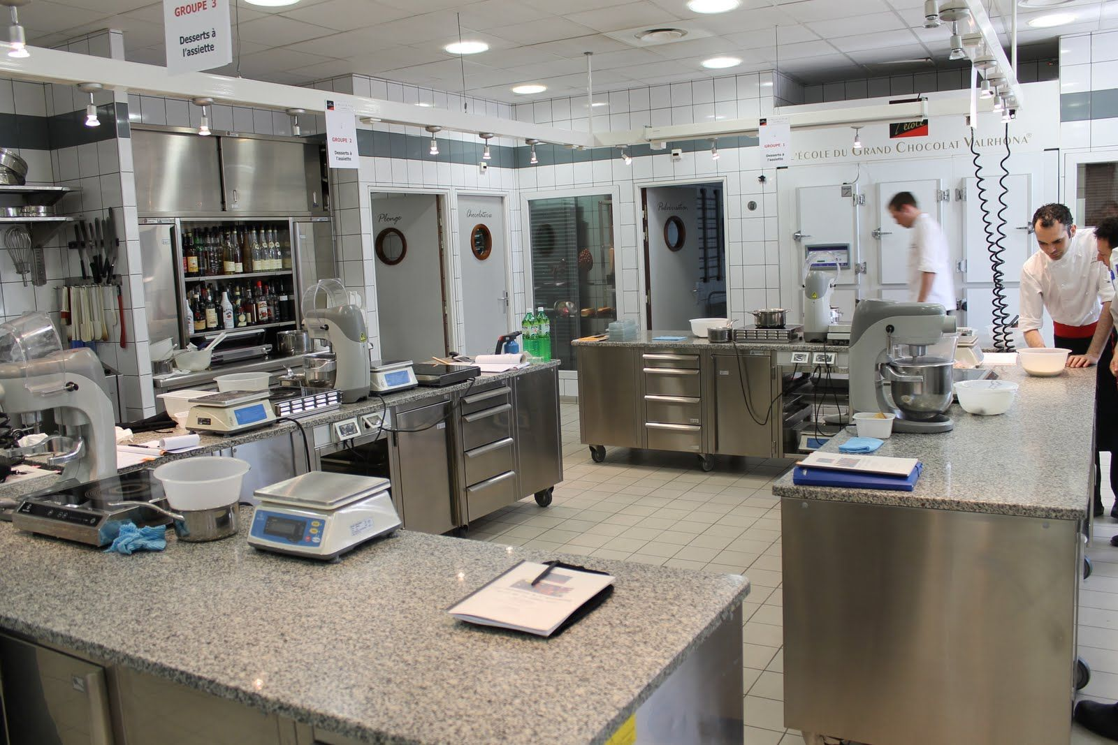 Here is a pastry kitchen that includes just about everything you ...