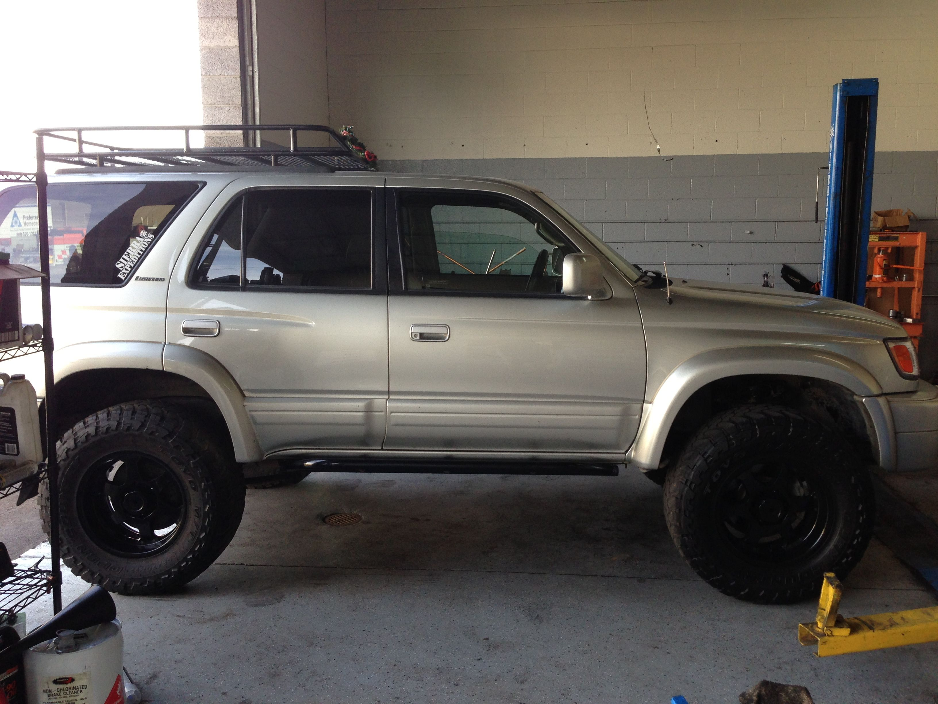Runner OME Lift Shop Projects Pinterest Toyota Toyota - 4runner truck