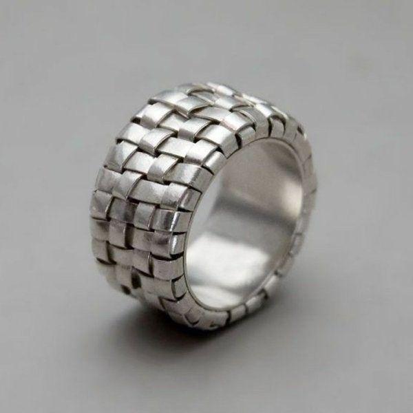50 Fantastic Silver Rings Design Ideas!   Ring designs, Silver ring ...