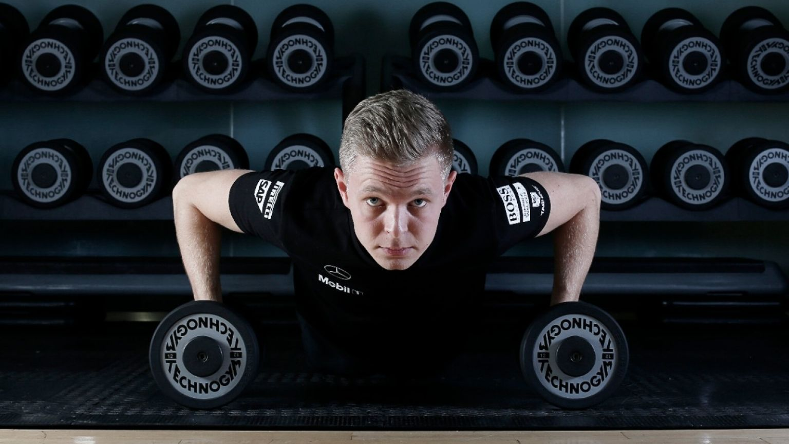 Driver Fitness Workout Routine Fitness Exercise