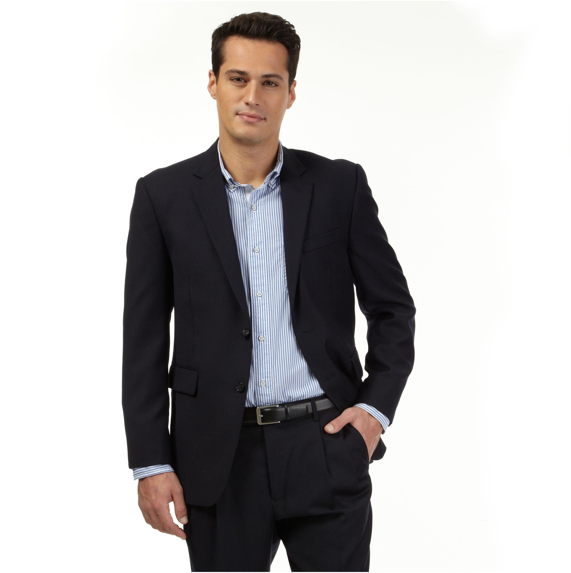 Suit jacket - Herringbone Suit Jacket