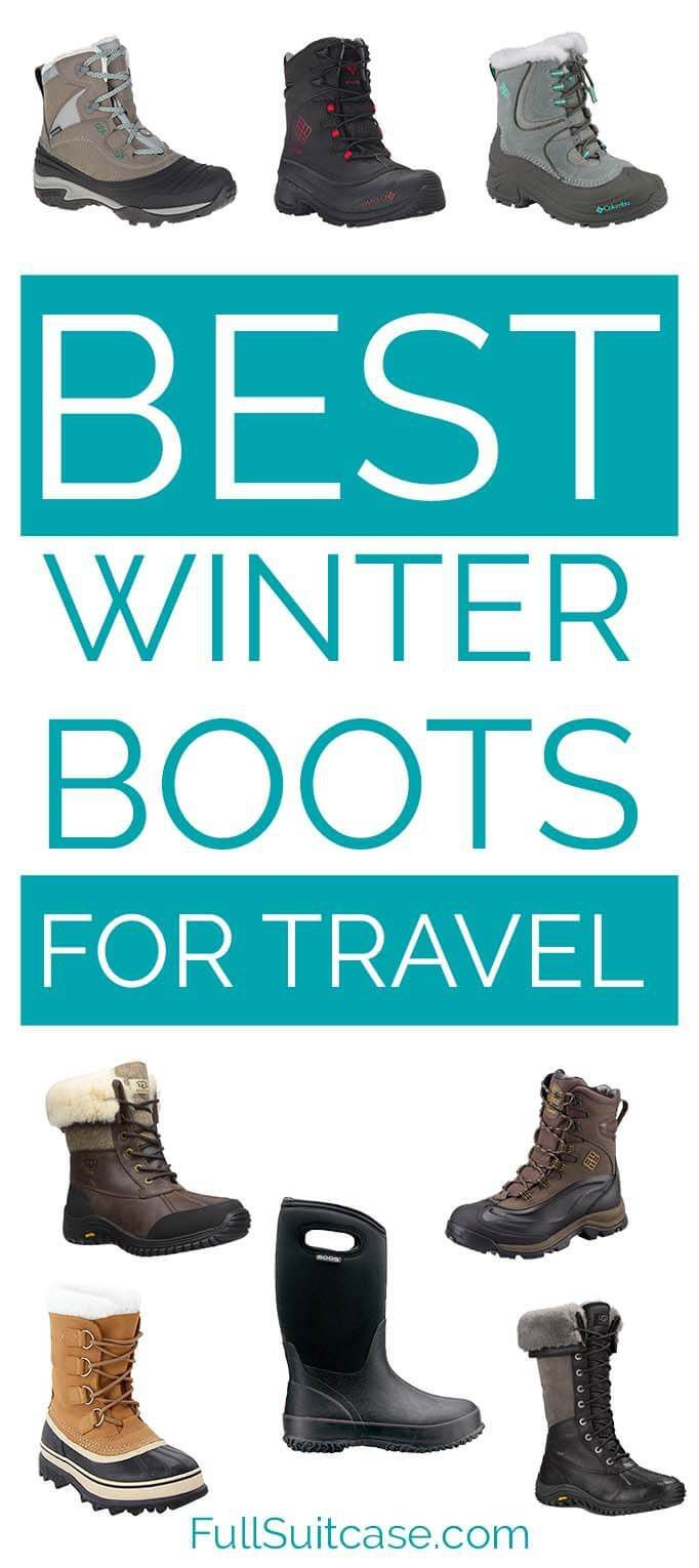 Best Winter Boots for Travel (Shoes for Winter 2020 – 2021