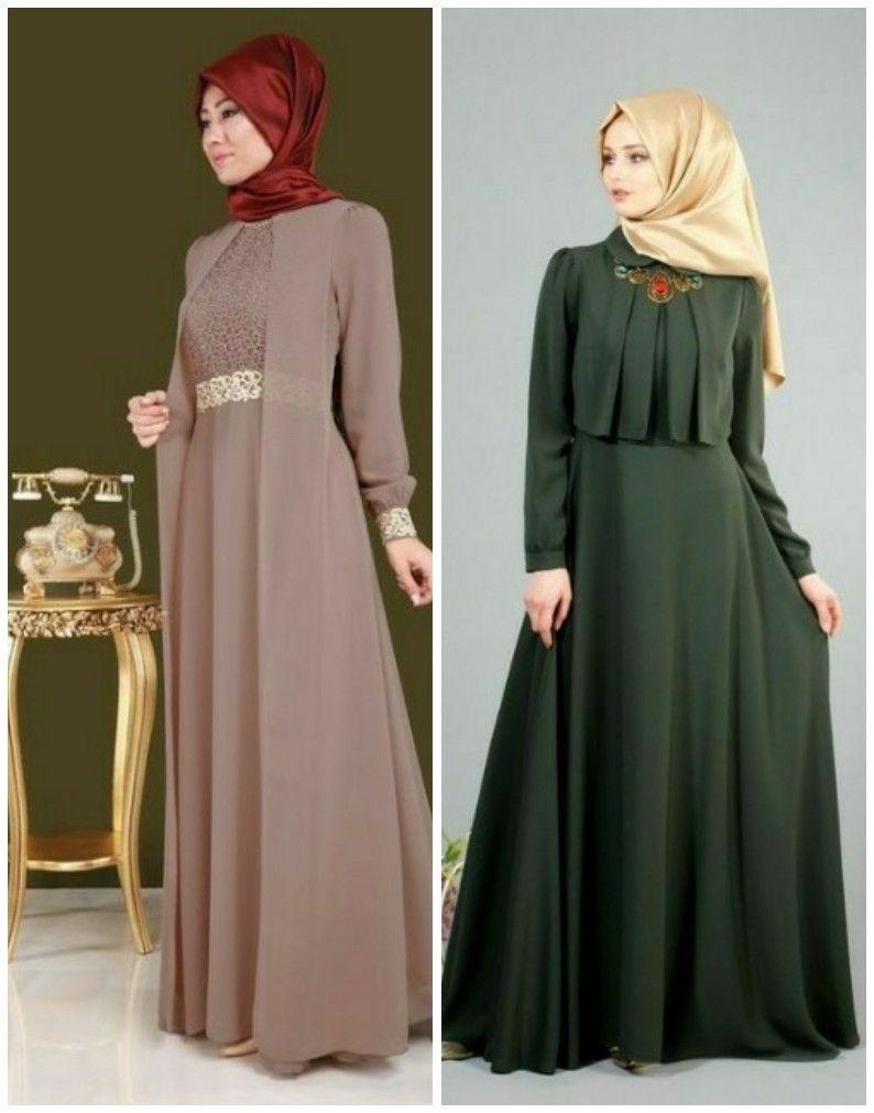 615c43b0fe32e 2019 Trend Tesettür Abiye Modelleri | Kadın giyim | Trendler ...