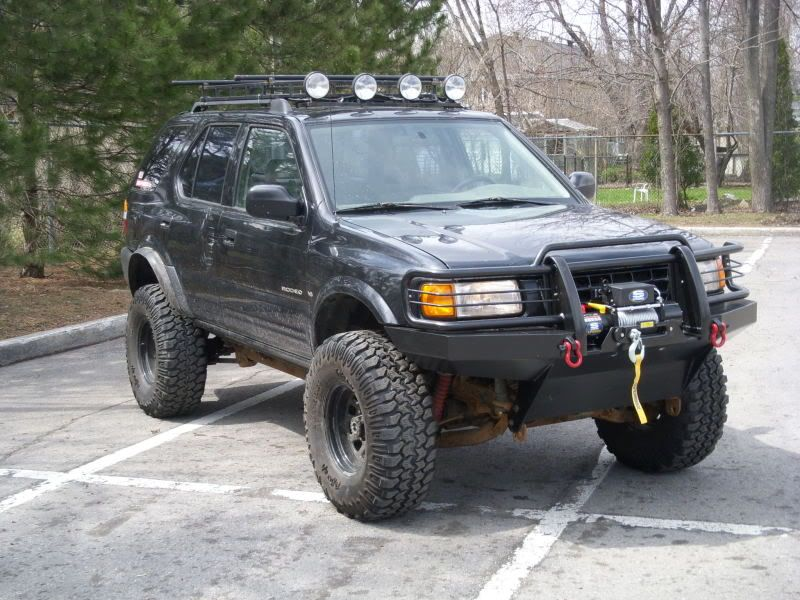 Lifted Isuzu Rodeo - Bing images | Isuzu | Rodeo, Off road