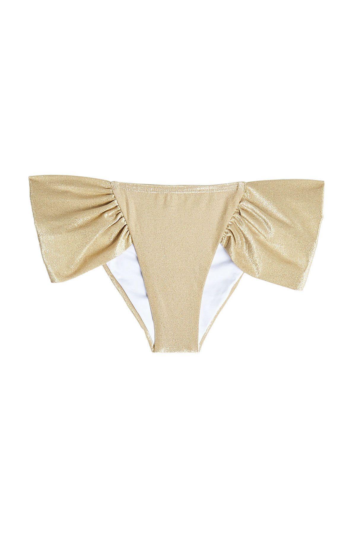 bda65ece0f5da ONDADEMAR Ondademar Ruched Bikini Bottom.  ondademar  cloth   Rouched Bikini  Bottoms