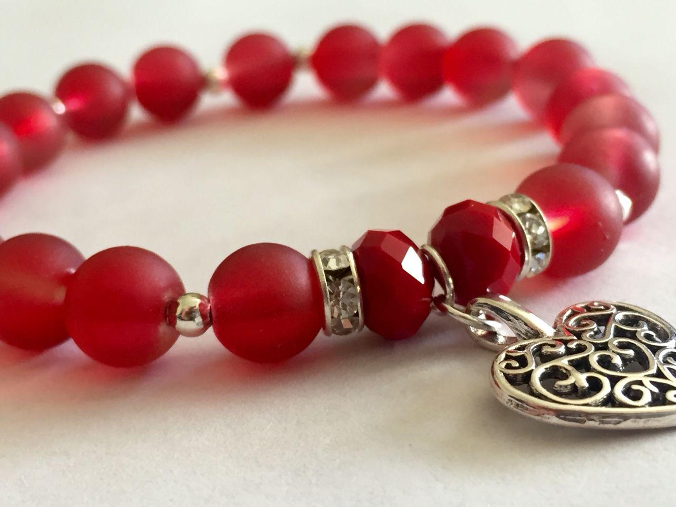 8e5ce8cfb57c Pulsera roja | pulseras | Pulsera roja, Pulseras y brazaletes y ...