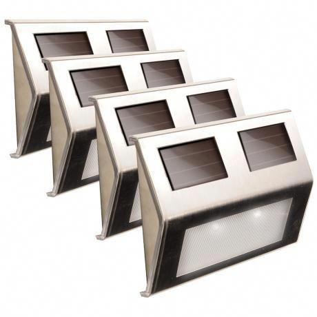 Best Solar Power 5 3 4 W Stainless Steel Deck Lights Set Of 4 400 x 300