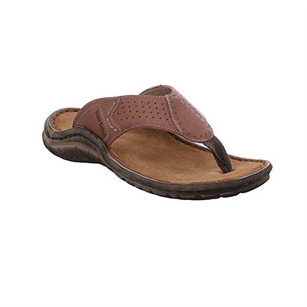 JOSEF SEIBEL : Women's Brown Leather Comfort Sandals Shoes : UK 7