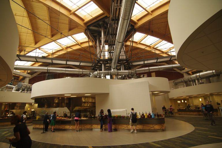University Of North Carolina At Greensboro Dining Hall Renovation, By Gantt  Huberman Architects