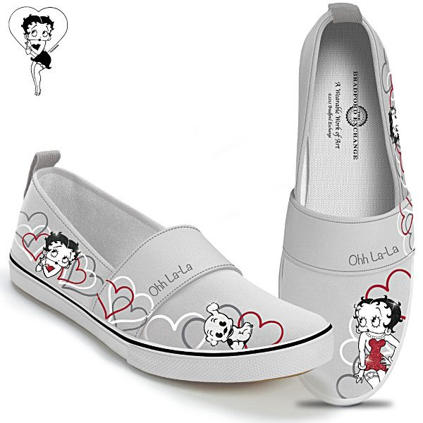 Forever Friends Betty Boop Women's Shoes