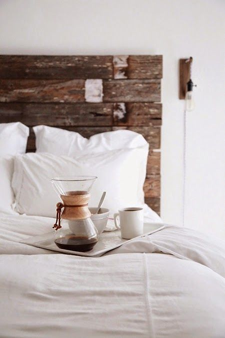 on the blog - how to make up the bed, easy ideas...