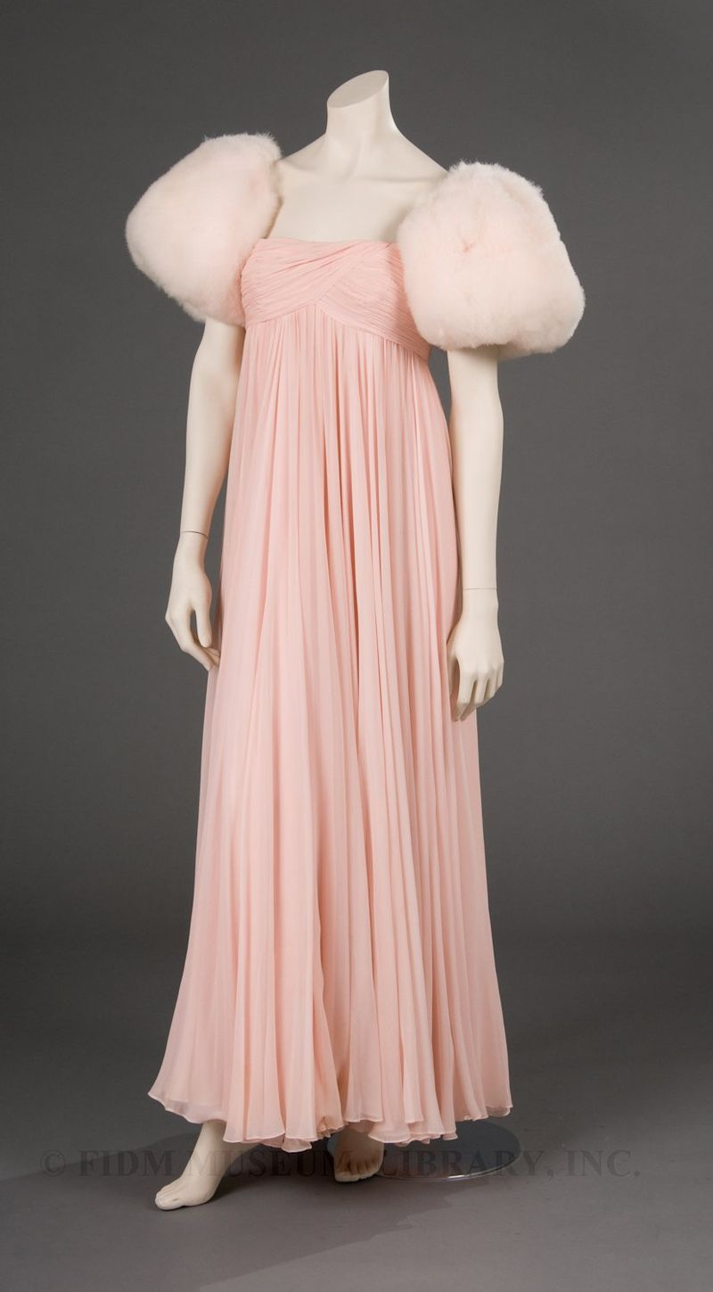 Ferdinando Sarmi Evening gown c.1964 a gift to the FIDM Museum from ...
