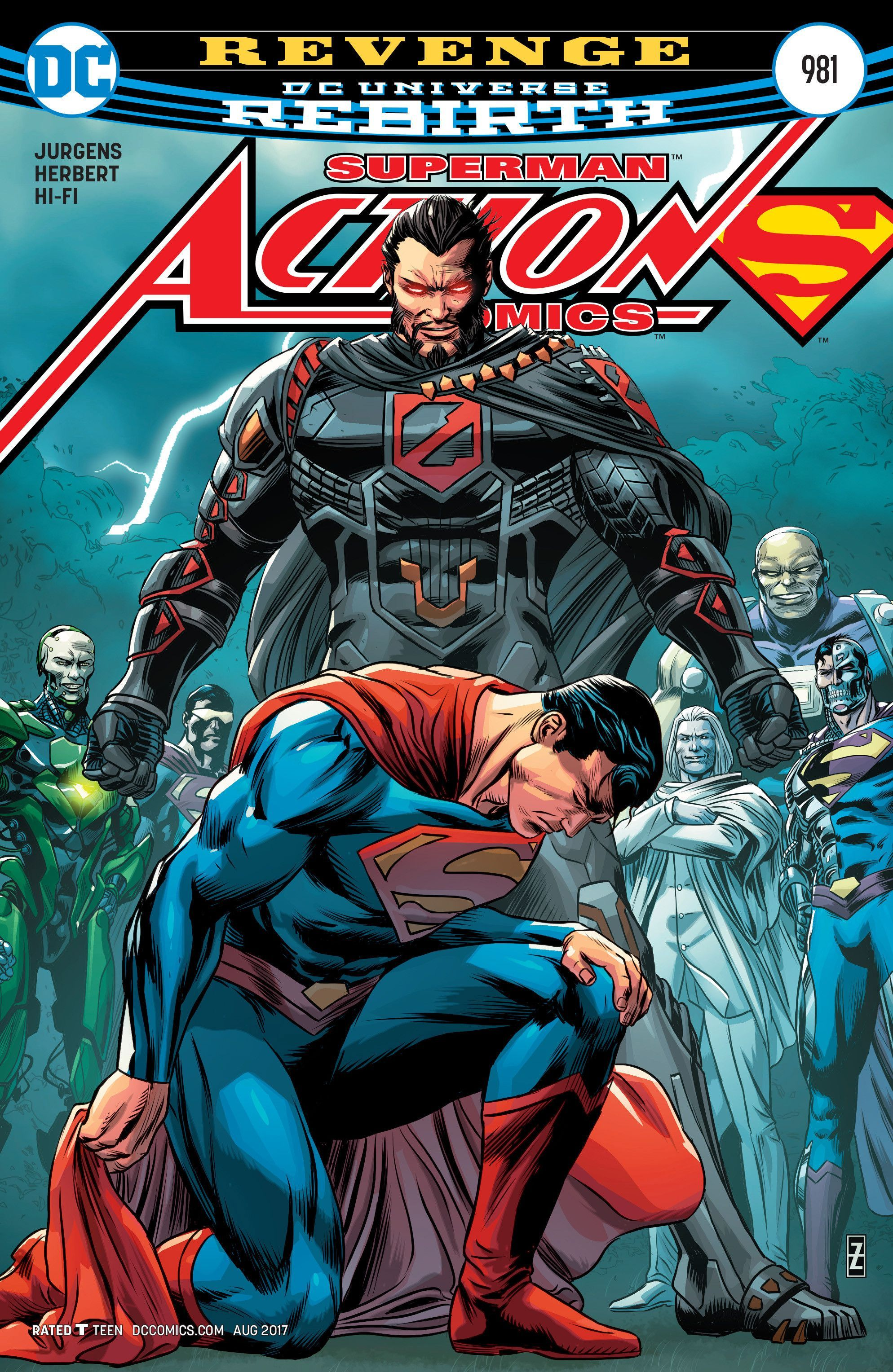 Action comics 981 general zod squad and comic action comics 981 fandeluxe Gallery