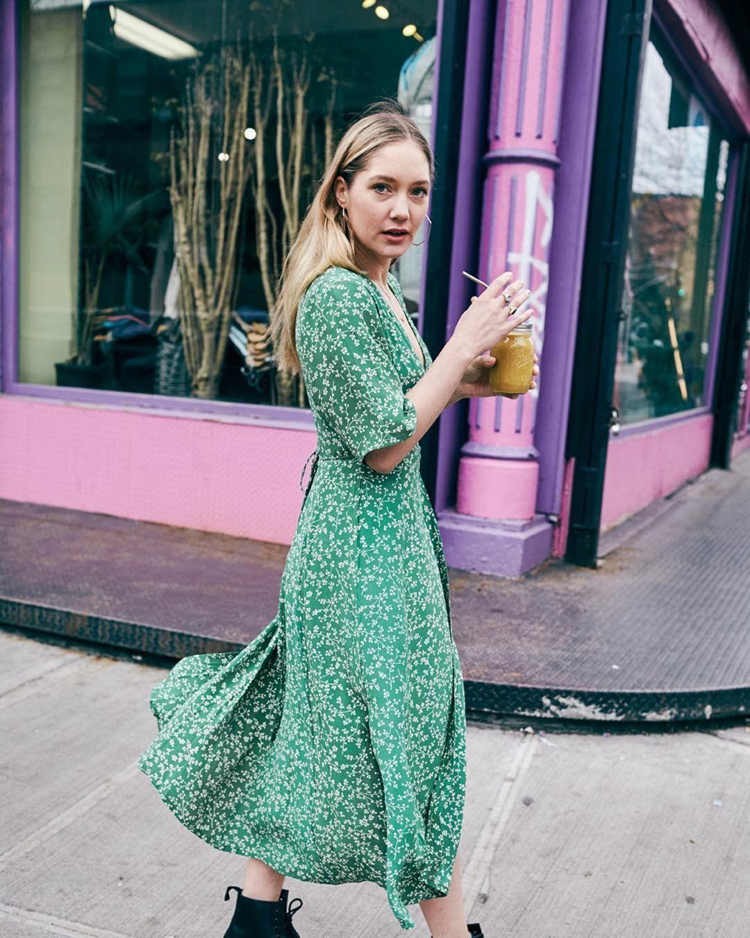 3c41a03052f5 Faithfull Violette Wrap Dress