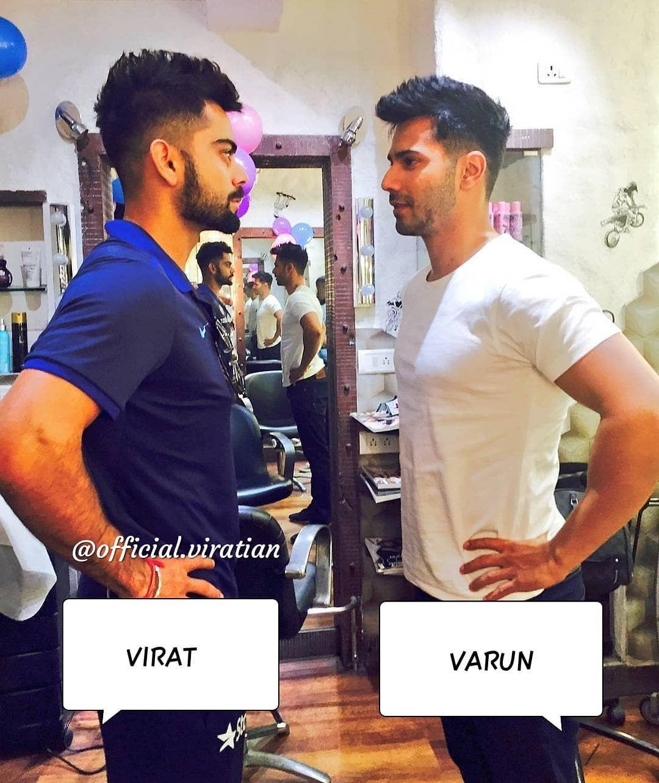 Virat hairstyle boy virat or varun  instagram  pinterest