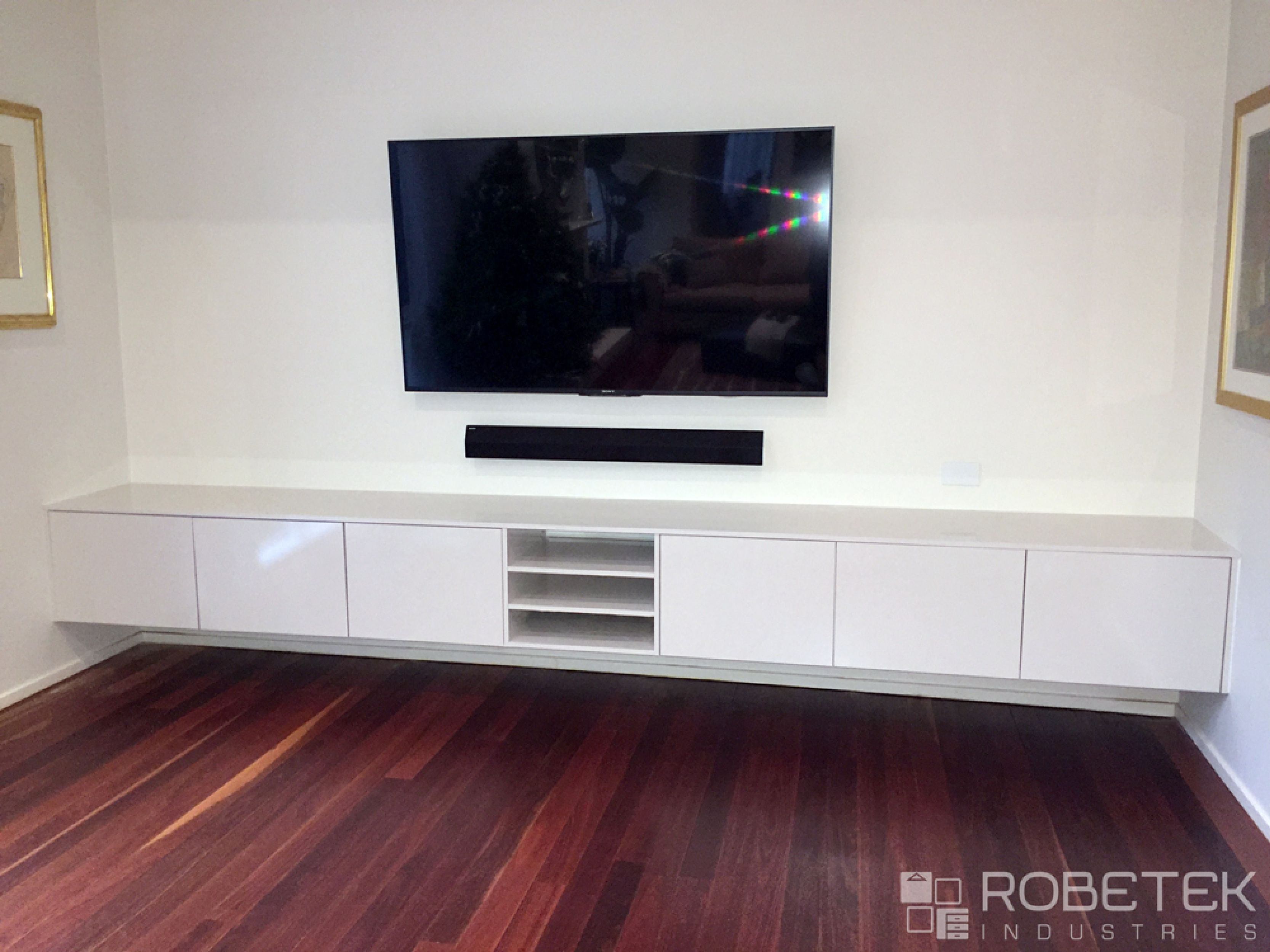 Custom Floating Tv Units Are A Stylish Statement That Is Permanent
