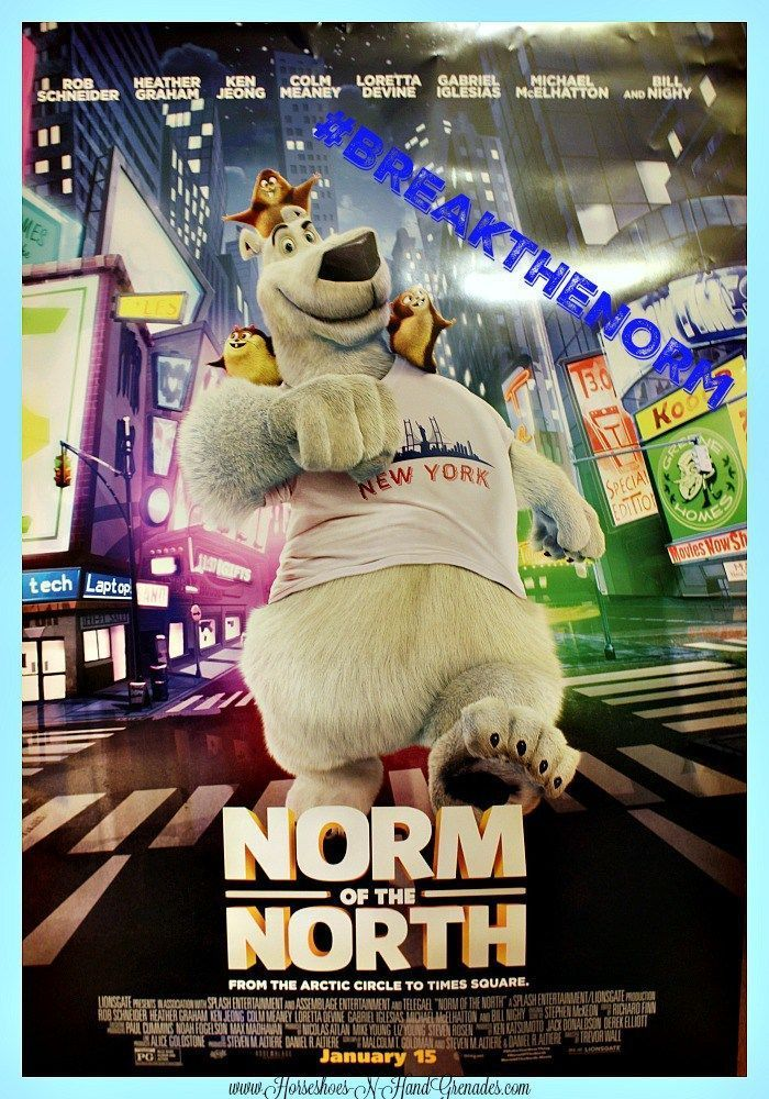 An Adventure With Norm of the North #BreakTheNorm #IC #ad