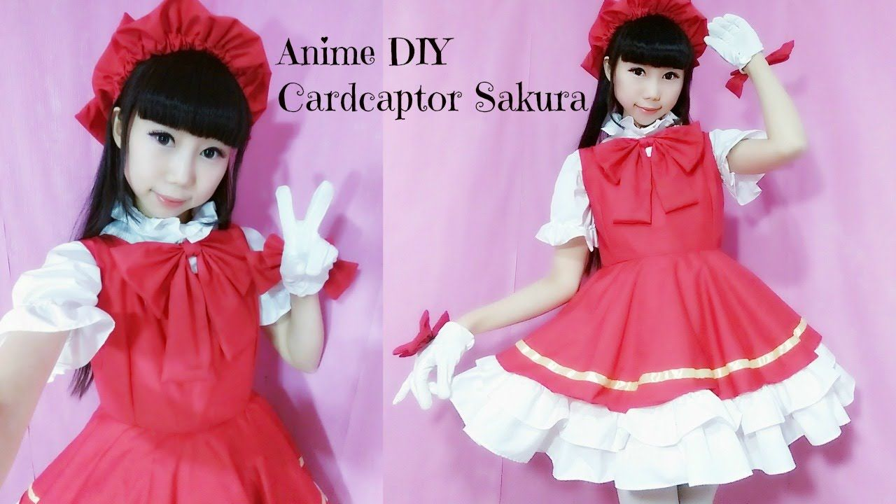 Anime Costume Diy How To Make Cardcaptor Sakura Costume Hat