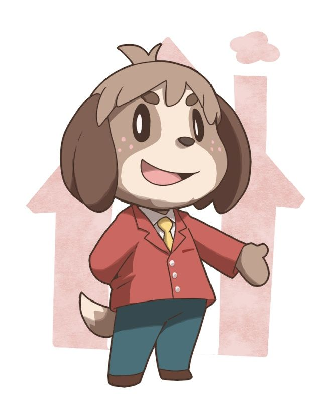 Isabelle animal crossing new leaf acnl digby dr. shrunk ...