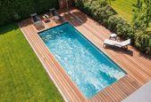 """Photo of Spaß und Vergnügen in Ihrem eigenen Gartenpool schwimmbad.de """"Ancona"""" Schwimmbad …"""