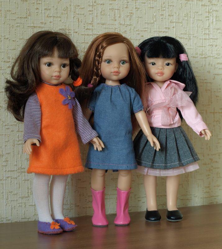 Мои паолки, или История одного увлечения / Paola Reina, Antonio Juan и другие испанские куклы / Бэйбики. Куклы фото. Одежда для кукол