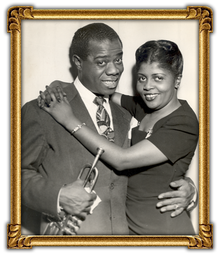 Louis Armstrong's Wives - by Ruth Nuttall [Infographic ...