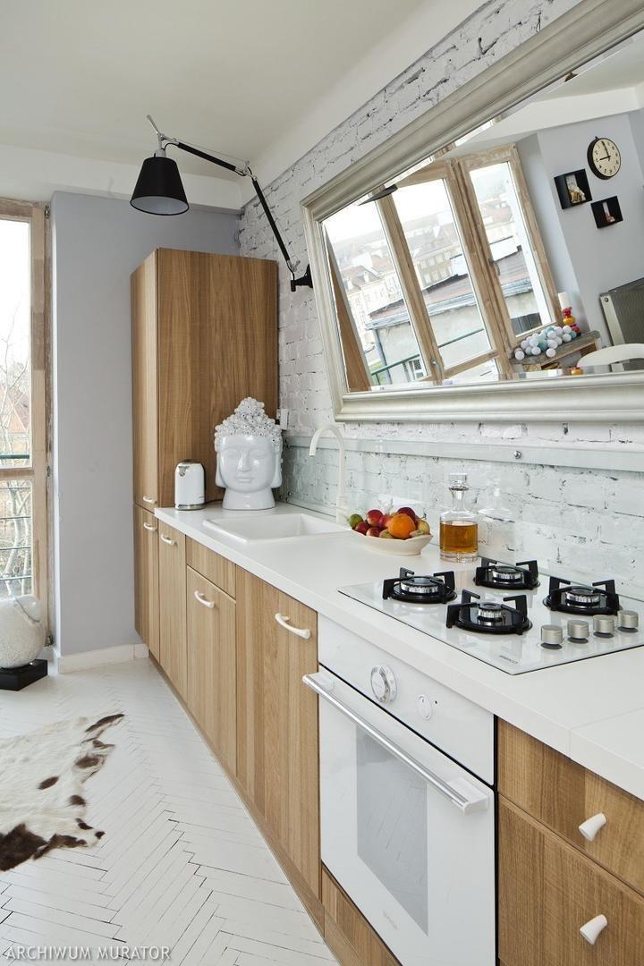 Styl Skandynawski Przytulne Wnetrza Home Decor Kitchen Kitchen Cabinets