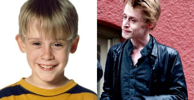 MACAULAY CULKIN, 34 Former kid star of the Home Alone movies is all grown up now. Yet, looking at him today he looks more like the creepy neighbor who might send a young boy running away screaming
