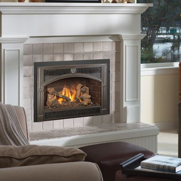 Columbus Ohio Gas Fireplace Inserts Available At Aspen