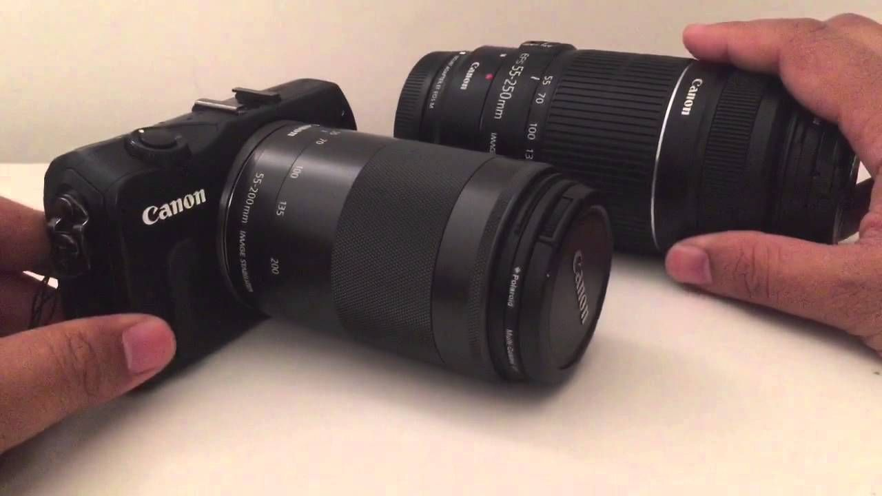 Best Lens For The Canon Eos M Part 5 Telephotos Ef M 55 200 Vs Ef S Canon Ef M 55 200 Is Stm Lens Canonefmlens E Camera Lenses Canon Canon Lens Canon Ef