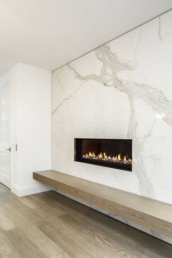 These 15 Beautiful Modern Fireplace Designs Are So