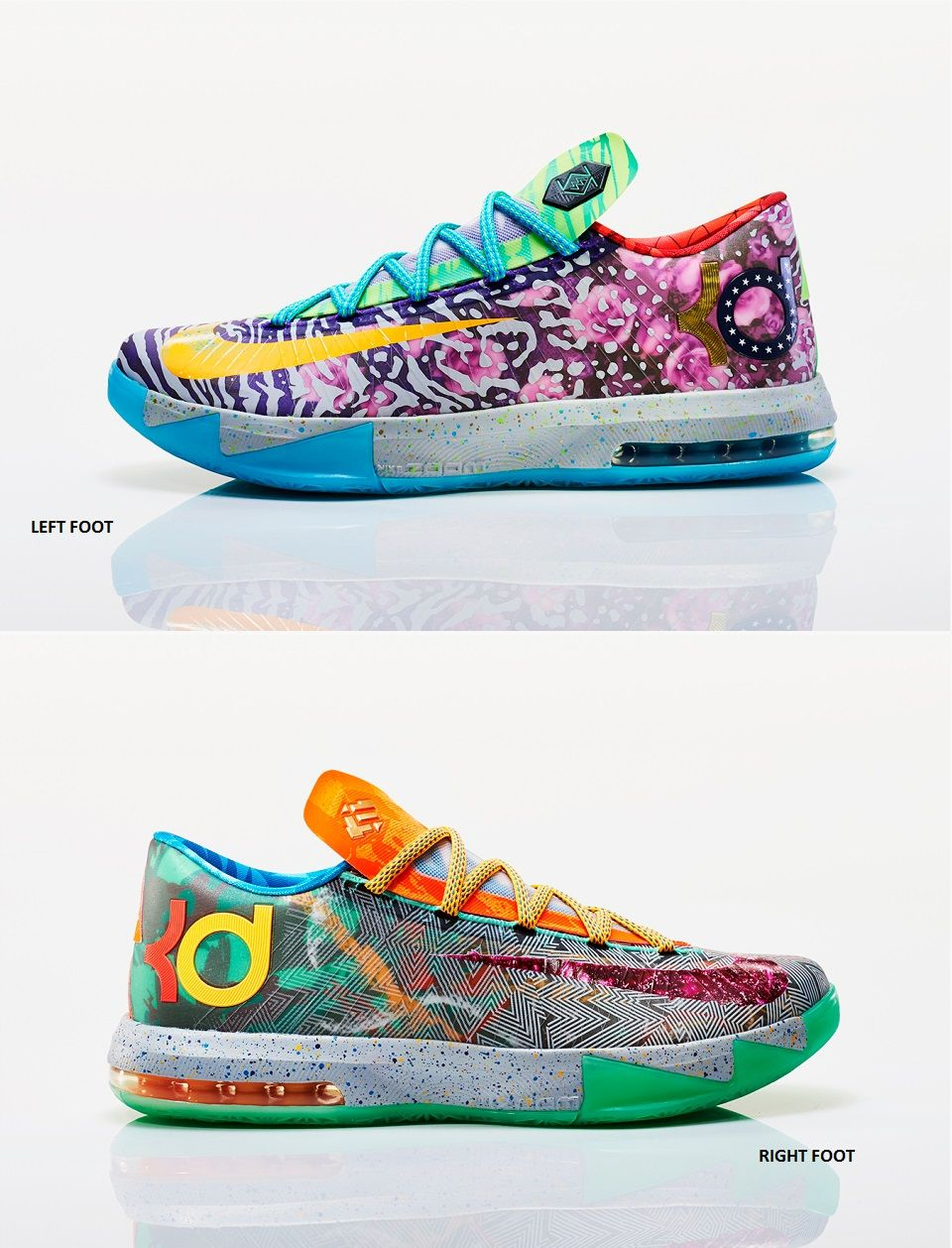 "save off 69a36 2e051 Nike KD VI ""What The KD"" Calzado Nike, Zapatillas Nike, Basket De"