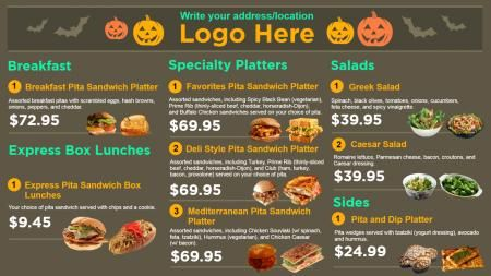 Restaurant Menu Templates Design Menu Board Design Pinterest - Restaurant menu board templates