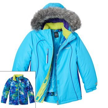 Zeroxposur 3 In 1 Alicia System Jacket Girls 7 16
