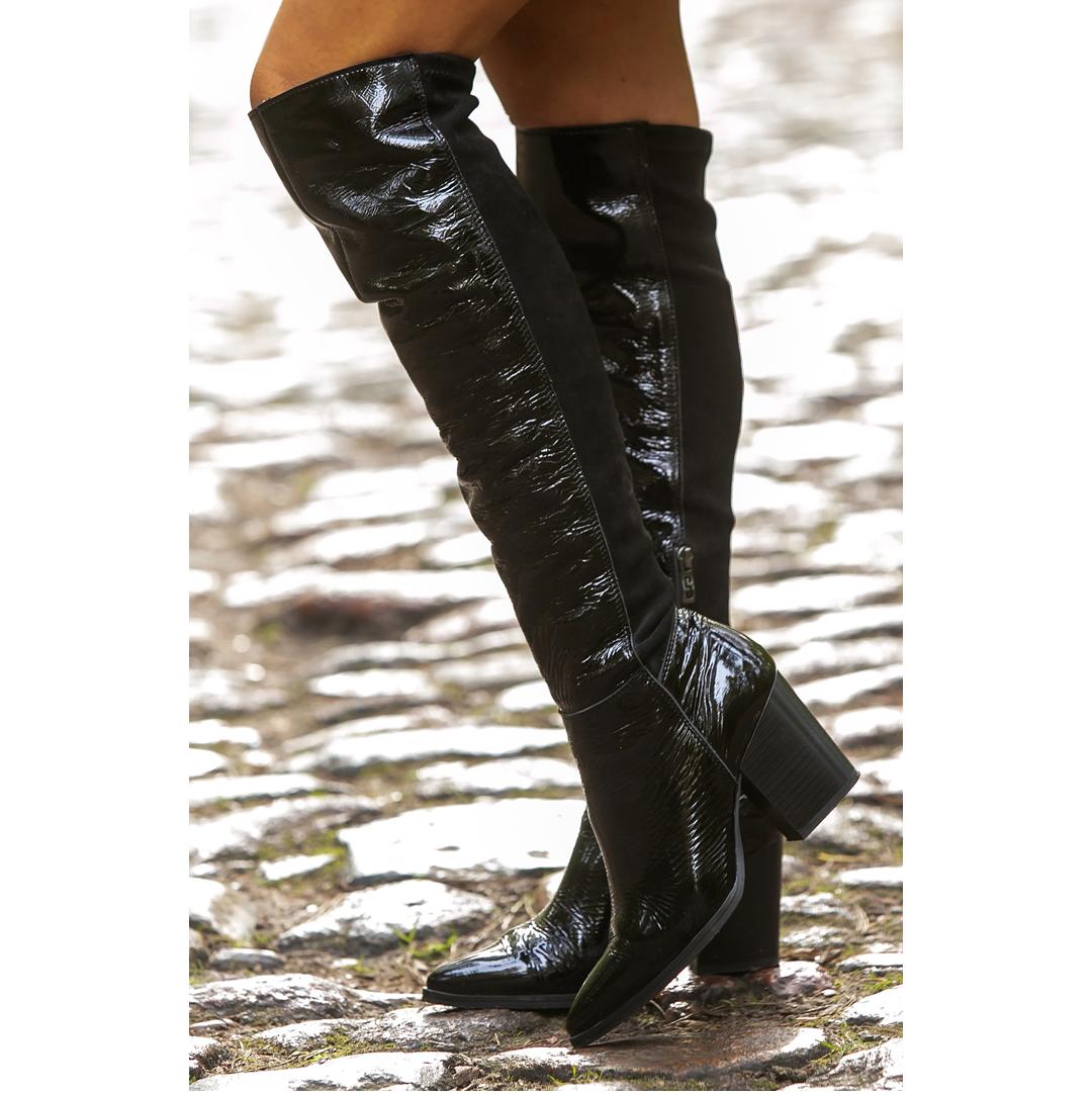 Kozaki Simen 3266a Boots Over Knee Boot Fashion