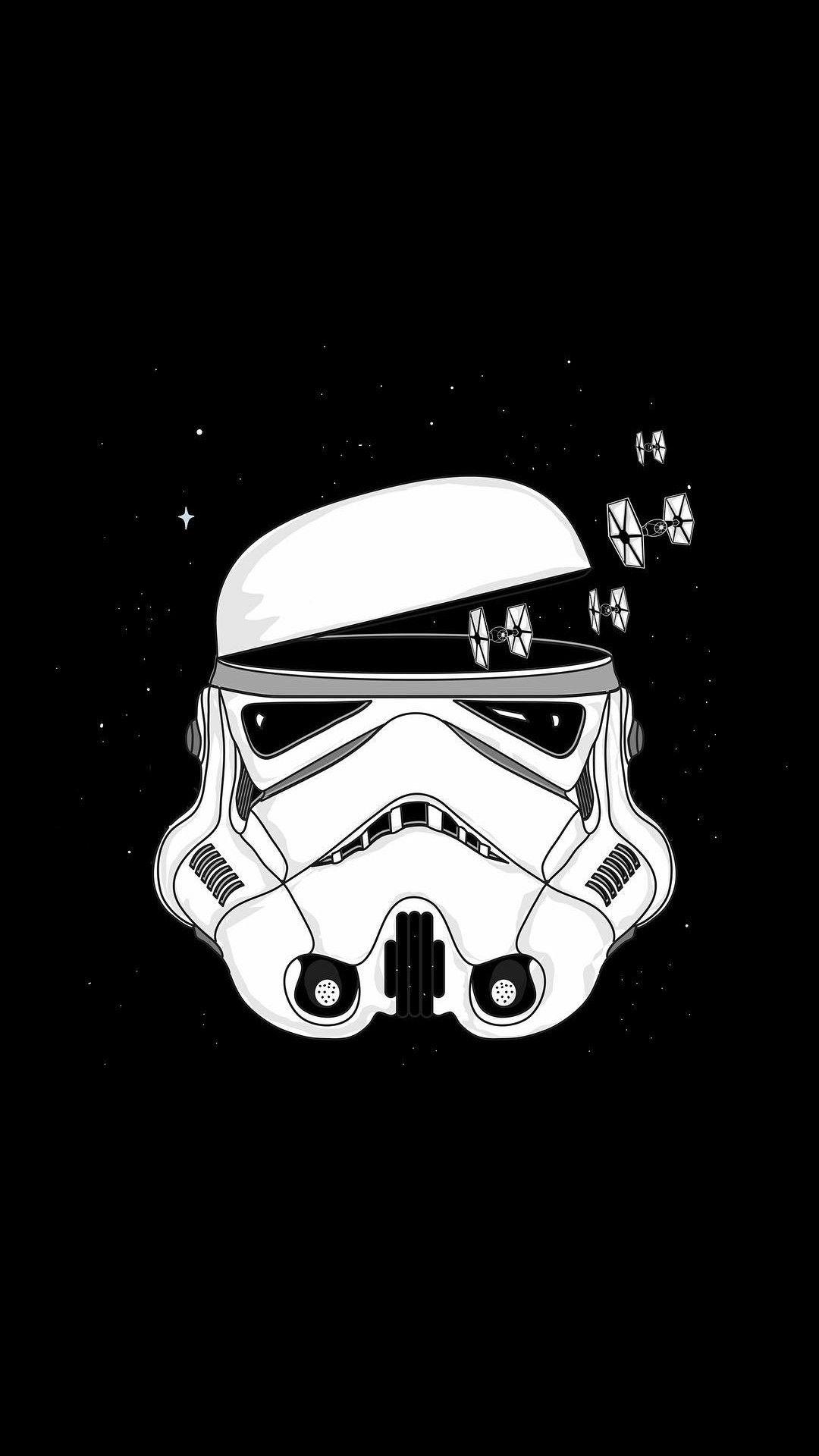 Pin By Iyan Sofyan On Super Heroes Pictures Star Wars Art Star Wars Wallpaper Star Wars Trooper