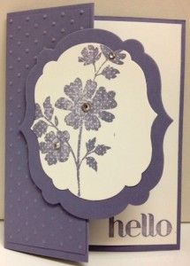 Handmade card using Four you and Gifts of Kindness stamp sets from Stampin' Up!