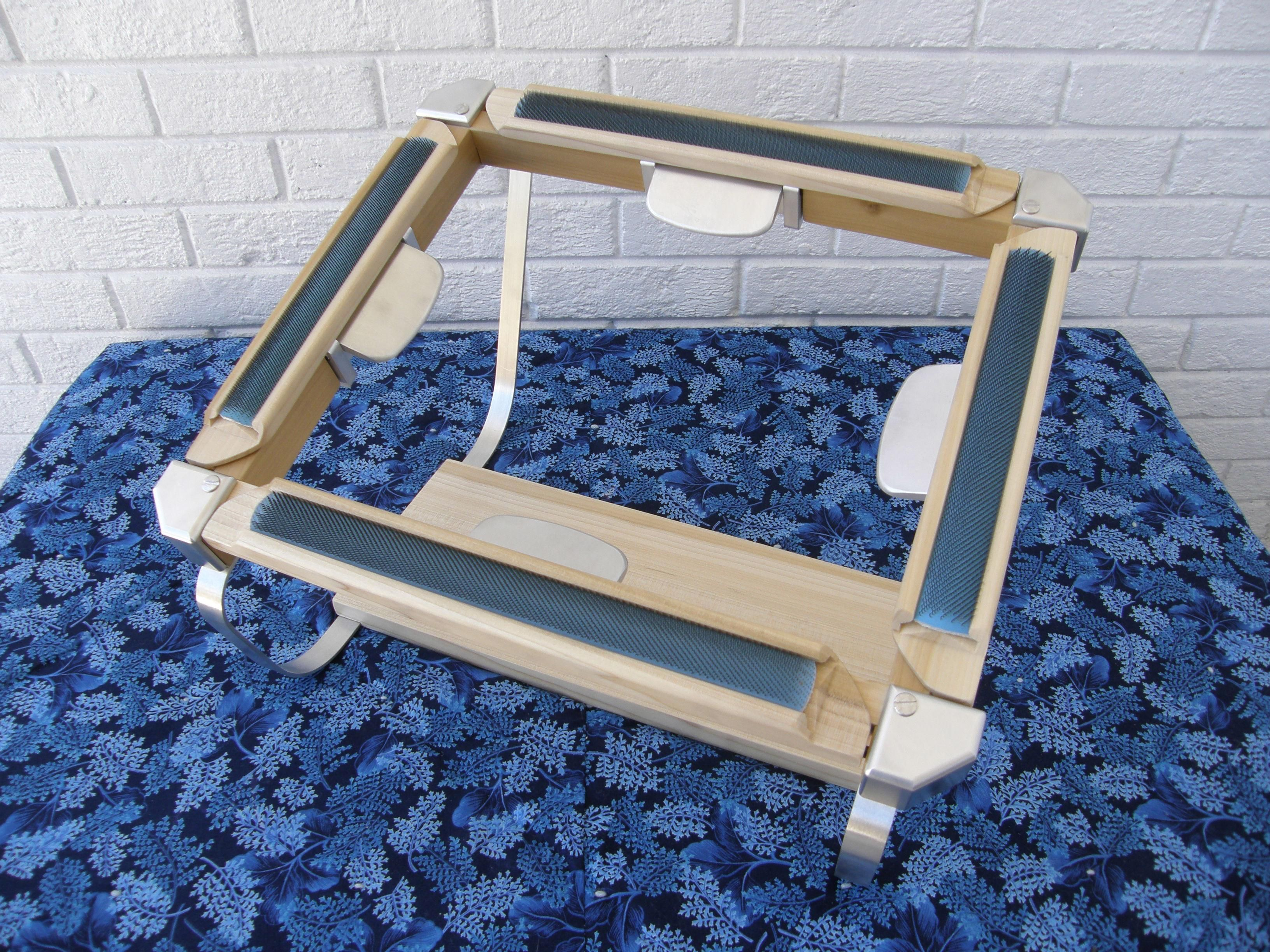 Snap Dragon Huggable Frame Pulls Backing Very Even And Cannot Feel Gripper