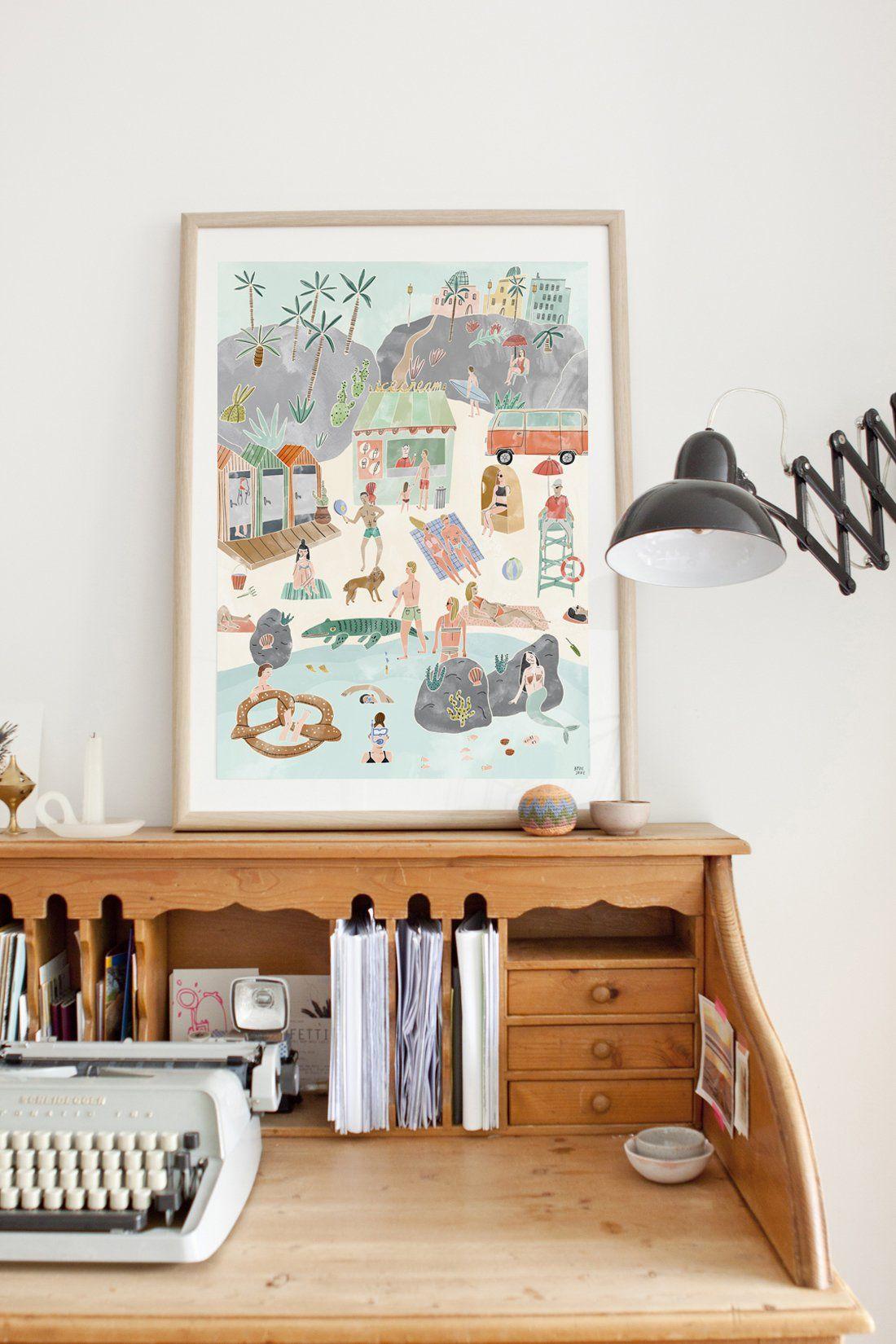 Botanical + Boho Style Prints - decor8