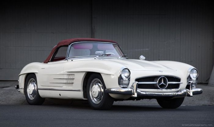 rally ready - 1957 mercedes-benz 300sl roadster | mercedes