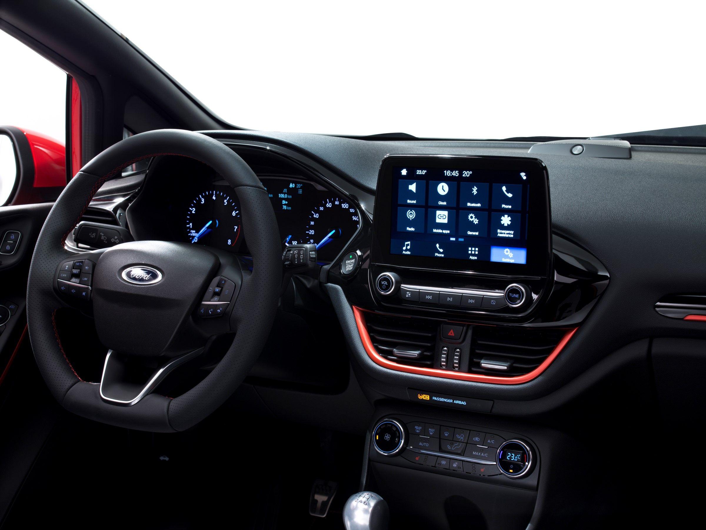 2018 Ford Fiesta Auto Innenraum Autos Ford