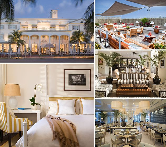 The Betsy Hotel Spa Looks Like Heaven Miami Getaway Inspiration Pinterest And