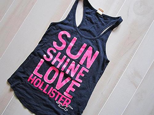 Sun shine love hollister