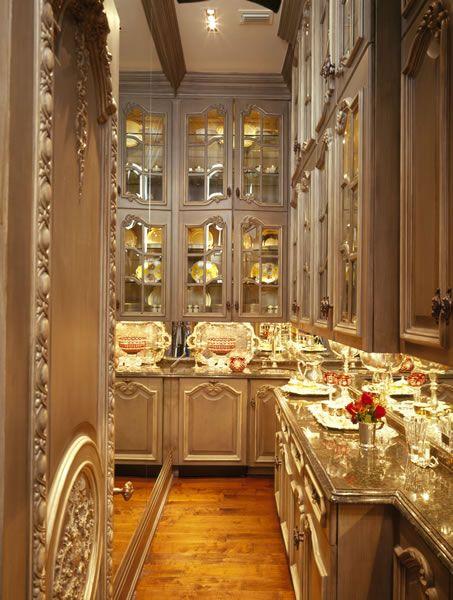 The Butler S Pantry Butler Pantry Elegant Kitchens Beautiful Kitchens