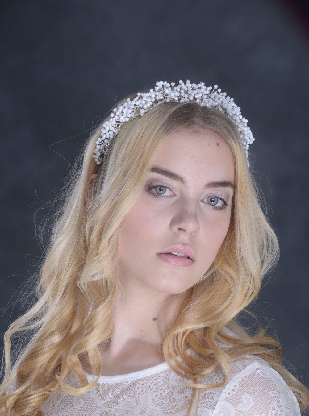 Bridal hair accessories babys breath - Gypsophila Hair Vine Hair Vine Bridal Hair Vine Baby Breath Hair Vine