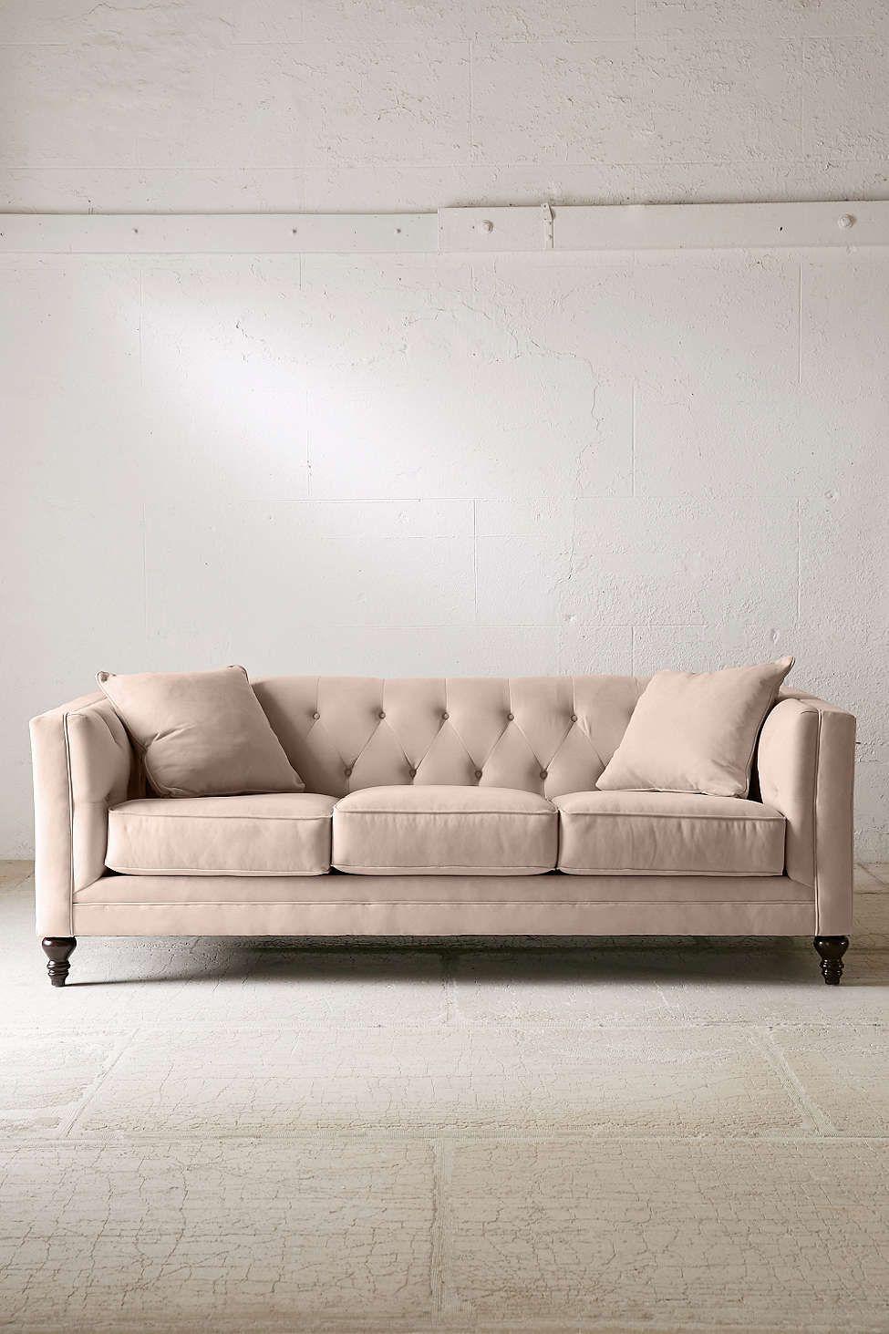Graham Microfiber Sofa $1200 (ALWAYS a sale though) Urbanoutfitters.com